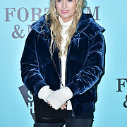 Lily Travers arrivers Skate at Somerset House with Fortnum & Mason Launch party, London, Somerset House, 12 November 2019, London, UK.
