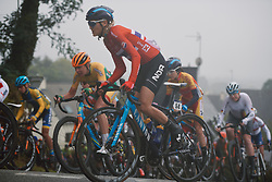 Katrine Aalerud (NOR) at the 2020 UEC Road European Championships - Elite Women Road Race, a 109.2 km road race in Plouay, France on August 27, 2020. Photo by Sean Robinson/velofocus.com
