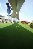 Celebrity Silhouette. Celebrity cruises' new ship launched in Hamburg 21st July 2011..Interior feature photos..Lawn Club Grill.