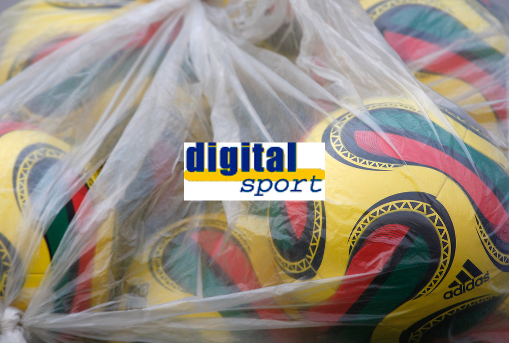 Photo: Steve Bond/Richard Lane Photography.<br />Egypt v Cameroun. Africa Cup of Nations. 22/01/2008. Official CAN colourful balls