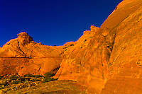 Rock formations, Water Holes Canyon, Navajo Nation, near Page, Arizona USA