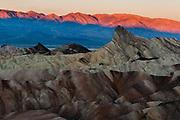 Zabriskie Point, Death Valley NP, California, USA.