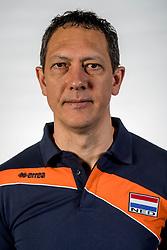 10-05-2017 NED: Selectie Nederlands volleybal team mannen 2017, Arnhem<br /> Op Papendal werd de selectie gepresenteerd / Assistent coach Claudio Gewehr