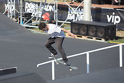 Osijek, May 31, 2018  David Mihalyfi of USA competes during the Skate PRO Finals at the 2018 Pannonian Challenge in Osijek, Croatia, on May 31, 2018. Pannonian Challenge is carrying the title of the biggest extreme sports events in the region. (Credit Image: © Dubravka Petric/Xinhua/Xinhua via ZUMA Wire)