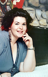 21 May 2015. Laurel, Mississippi.<br /> Collect photos of plus size model Tess Holliday (formerly known as Tess Munster, née Ryann Hoven) in her formative years from a family album. Tess as a teenager.<br /> Photo credit; Tadlock via Varleypix.com