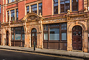Now converted into flats, the Jewish Soup Kitchen in Brune Street during the coronavirus pandemic on the 4th May 2020 in London, United Kingdom. It opened in 1902 and closed in 1992