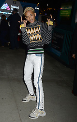 Jaden Smith arriving to An Evening Honoring Louis Vuitton and Nicolas Ghesquiere at Alice Tully Hall at Lincoln Center on November 30, 2017 in New York City, NY, USA. Photo by Dennis Van Tine/ABACAPRESS.COM
