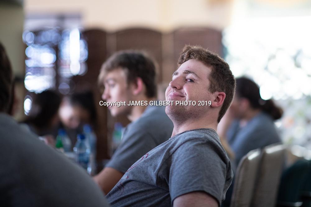 George Gilbert<br /> <br /> St Joe mission trip to Belize 2019. JAMES GILBERT PHOTO 2019