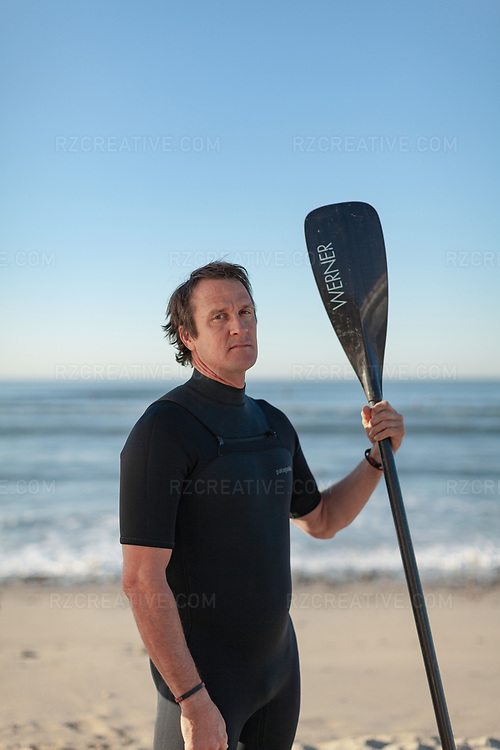 Portrait of Dan Gavere at San Onofre State Beach. Photo © Robert Zaleski / rzcreative.com<br /> —<br /> To license this image contact: robert@rzcreative.com