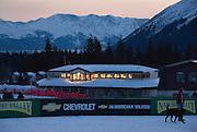 Opening ceremonies for the 2007 U.S. Alpine Championships at Alyeska, Resort, Alaska.