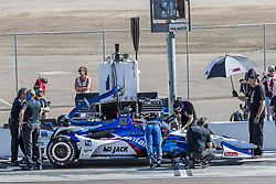 February 9, 2018 - Avondale, Arizona, United States of America - February 09, 2018 - Avondale, Arizona, USA: The Verizon IndyCar Teams take to the track for the Prix View at ISM Raceway in Avondale, Arizona. (Credit Image: © Walter G Arce Sr Asp Inc/ASP via ZUMA Wire)