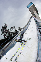03.01.2014, Bergisel Schanze, Innsbruck, AUT, FIS Ski Sprung Weltcup, 62. Vierschanzentournee, Training, im Bild Gregor Deschwanden (SUI) // Gregor Deschwanden (SUI) during practice Jump of 62nd Four Hills Tournament of FIS Ski Jumping World Cup at the Bergisel Schanze, Innsbruck, <br /> Austria on 2014/01/03. EXPA Pictures © 2014, PhotoCredit: EXPA/ JFK