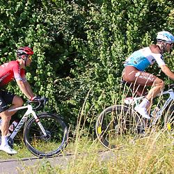 15-09-2020: wielrennen: Luxemburg: Luxemburg<br />(1) Tony Gallopin, (171) Franck Bonnamour