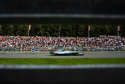 August 27, 2017 - Spa, Belgium - 44 HAMILTON Lewis from Great Britain of team Mercedes GP passing trought the fans  during the Formula One Belgian Grand Prix at Circuit de Spa-Francorchamps on August 27, 2017 in Spa, Belgium. (Credit Image: © Xavier Bonilla/NurPhoto via ZUMA Press)