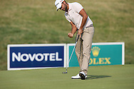 Carlos Del Moral (ESP)  birdies 9 during Round One of the 2015 Alstom Open de France, played at Le Golf National, Saint-Quentin-En-Yvelines, Paris, France. /02/07/2015/. Picture: Golffile | David Lloyd<br /> <br /> All photos usage must carry mandatory copyright credit (© Golffile | David Lloyd)