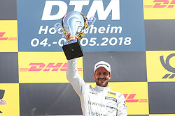 May 5, 2018 - Germany - Motorsports: DTM race Hockenheimring, Saison 2018 - 1. Event Hockenheimring, GER, Lucas Auer ( AUT, Mercedes HWA AG ), Gary Paffett ( GBR, Mercedes HWA AG ), Timo Glock, ( D, BMW Team RMG  (Credit Image: © Hoch Zwei via ZUMA Wire)