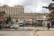 Israel, Jerusalem, The Israeli Police station in the Russian Compound