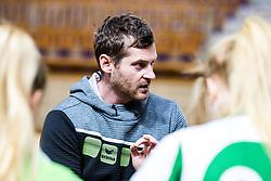 Gasper Kovac, head coach of ZRK Krka Novo Mesto during handball match between RK Olimpija and ZRK Krka Novo Mesto in Round #10 of National Youth League in Season 2020-21, on May 2, 2021 in Hala Tivoli, Ljubljana, Slovenia. Photo by Matic Klansek Velej / Sportida