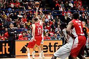 DESCRIZIONE : Milano Euroleague 2015-16 EA7 Emporio Armani Milano - Olympiacos Piraeus<br /> GIOCATORE : Georgios Printezis<br /> CATEGORIA : tiro three points<br /> SQUADRA : Olympiacos Piraeus<br /> EVENTO : Euroleague 2015-2016<br /> GARA : EA7 Emporio Armani Milano - Olympiacos Piraeus<br /> DATA : 30/10/2015<br /> SPORT : Pallacanestro<br /> AUTORE : Agenzia Ciamillo-Castoria/Max.Ceretti<br /> Galleria : Euroleague 2015-2016 <br /> Fotonotizia: Milano Euroleague 2015-16 EA7 Emporio Armani Milano - Olympiacos Piraeus