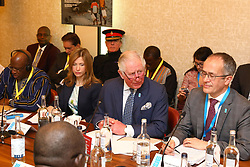 The Prince of Wales and Tim Wainwright from WaterAid (right) attend the WaterAid charity's Water and Climate event in London. PA Photo. Picture date: Tuesday March 10, 2020. The Prince of Wales was joined by government representatives, community members and business leaders from across the world at the event to address the impacts of climate change on access to drinking water. See PA story ROYAL Charles. Photo credit should read: Tim P Whitby/PA Wire