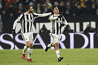esultanza gol Paulo Dybala Juventus Goal celebration <br /> Torino 20-12-2017 Allianz Stadium Football Calcio Coppa Italia 2017/2018 Juventus - Genoa Foto Image Sport / Insidefoto