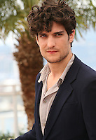 Actor Louis Garrel.at the 'Un Chateau En Italie' film photocall at the Cannes Film Festival  Tuesday 21 May 2013