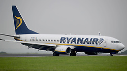 File photo dated 25/08/16 of a Ryanair plane. Ryanair has changed its hand luggage rules for the second time this year. From Thursday the Dublin-based airline introduced charges for passengers flying with a small suitcase.