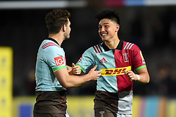 Marcus Smith of Harlequins - Mandatory byline: Patrick Khachfe/JMP - 07966 386802 - 06/10/2017 - RUGBY UNION - The Twickenham Stoop - London, England - Harlequins v Sale Sharks - Aviva Premiership- Mandatory byline: Patrick Khachfe/JMP - 07966 386802 - 06/10/2017 - RUGBY UNION - The Twickenham Stoop - London, England - Harlequins v Sale Sharks - Aviva Premiership