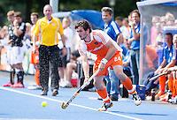 UTRECHT - Robert van der Horst  van Oranje ,zaterdag tijdens de  hockey interland tussen de mannen van Nederland en Duitsland (4-2). COPYRIGHT KOEN SUYK
