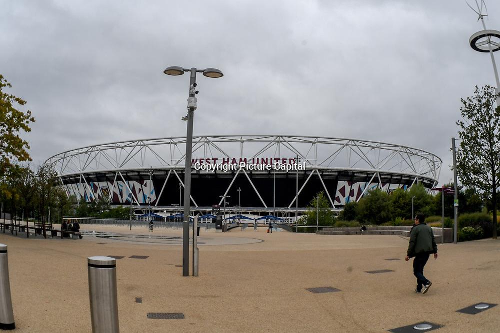 West Ham United Football Club at Queen Elizabeth Olympic Park, London, UK 11 September 2018.