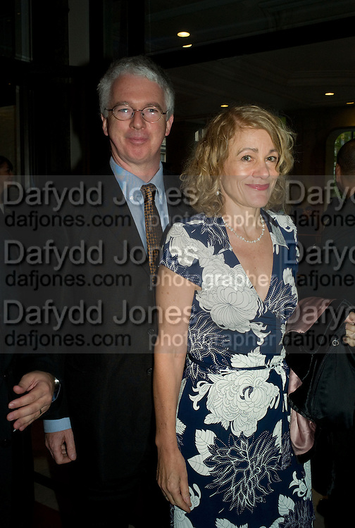 MR. AND MRS PETER STOTHARD, The Spectator 180th Anniversary party, at the Churchill Hotel, London, 7 May 2008.  *** Local Caption *** -DO NOT ARCHIVE-© Copyright Photograph by Dafydd Jones. 248 Clapham Rd. London SW9 0PZ. Tel 0207 820 0771. www.dafjones.com.