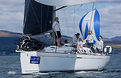 Pelle P Kip Regatta 2019 Day 1<br /> <br /> Light and bright conditions for the opening racing on the Clyde keelboat season<br /> GBR3627L, Animal, Kevin Aitken, CCC/RNCYC, First 36.7