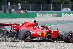August 31, 2018 - Monza, Italy - Motorsports: FIA Formula One World Championship 2018, Grand Prix of Italy, .#5 Sebastian Vettel (GER, Scuderia Ferrari) (Credit Image: © Hoch Zwei via ZUMA Wire)