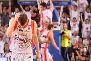 DESCRIZIONE : Reggio Emilia Lega A 2014-15 Grissin Bon Reggio Emilia - Banco di Sardegna Sassari playoff finale gara 5 <br /> GIOCATORE :Silins Ojars<br /> CATEGORIA : Esultanza Ritratto Mani  Low<br /> SQUADRA : GrissinBon Reggio Emilia<br /> EVENTO : LegaBasket Serie A Beko 2014/2015<br /> GARA : Grissin Bon Reggio Emilia - Banco di Sardegna Sassari playoff finale gara 5<br /> DATA : 22/06/2015 <br /> SPORT : Pallacanestro <br /> AUTORE : Agenzia Ciamillo-Castoria / Richard Morgano<br /> Galleria : Lega Basket A 2014-2015 Fotonotizia : Reggio Emilia Lega A 2014-15 Grissin Bon Reggio Emilia - Banco di Sardegna Sassari playoff finale gara 5  Predefinita :