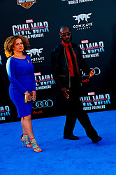 """Don Cheadle 04/12/2016 World Premiere of Marvel's """"Captain America: Civil War"""" held at Dolby Theater in Hollywood, CA. EXPA Pictures © 2016, PhotoCredit: EXPA/ Photoshot/ Albert L. Ortega<br /> <br /> *****ATTENTION - for AUT, SLO, CRO, SRB, BIH, MAZ, SUI only*****"""