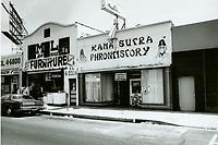 1975 Kama Sutra Phrontistory on Santa Monica Blvd.