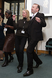 © Licensed to London News Pictures. 23/02/2015. London, England. MP Chris Heaton-Harris dances with members of Dance UK. MPs attend a dance class with members of Dance UK and Lindy Hop dancers. Dance UK launches the 2015 Dance Manifesto with a beginners' social dance class hosted by the All Party Parliamentary Dance Group for all MPs at Portcullis House and led by teacher Jenny Thomas, charleston choreographer for the BBC's Strictly Come Dancing with Strictly professional dancer Robin Windsor. Photo credit: Bettina Strenske/LNP