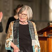 NLD/Amsterdam/20181127 - Koning reikt Erasmusprijs 2018 uit aan Barbara Ehrenreich, Barbara Ehrenreich