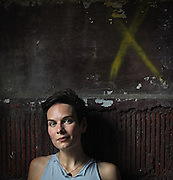 Actress Michaela Petro of the Strawdog Theater Company, photographed Tuesday, July 10, 2012. (Brian Cassella/Chicago Tribune)  B582218548Z.1<br /> ....OUTSIDE TRIBUNE CO.- NO MAGS,  NO SALES, NO INTERNET, NO TV, CHICAGO OUT, NO DIGITAL MANIPULATION...
