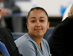 "Eva Longoria releases a photo on Twitter with the following caption: """"BREAKING: Cyntoia Brown was just granted clemency from a life sentence in prison for killing a man who bought her for sex when she was 16.<br /> <br /> She&#39;ll be released on parole supervision on August 7."""". Photo Credit: Twitter *** No USA Distribution *** For Editorial Use Only *** Not to be Published in Books or Photo Books ***  Please note: Fees charged by the agency are for the agency's services only, and do not, nor are they intended to, convey to the user any ownership of Copyright or License in the material. The agency does not claim any ownership including but not limited to Copyright or License in the attached material. By publishing this material you expressly agree to indemnify and to hold the agency and its directors, shareholders and employees harmless from any loss, claims, damages, demands, expenses (including legal fees), or any causes of action or allegation against the agency arising out of or connected in any way with publication of the material."