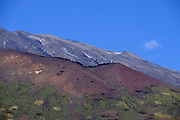 Slopes of Mount Etna, The highest and most active volcano in Europe, Nicolosi, Sicily, Italy