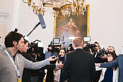 04.03.2020, Bundeskanzleramt, Wien, AUT, Pressestatement Rudolf Anschober (Gruene) zum Coronavirus // during press statement on the corona virus at the federal chancellery in Vienna, Austria on 2020/03/04. EXPA Pictures © 2020, PhotoCredit: EXPA/ Florian Schroetter