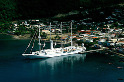 Cruising: Wind Sprit, St. Lucia, Caribbean, Soufriere,  Photo: cruwin104.Photo copyright Lee Foster, 510/549-2202,  lee@fostertravel.com, www.fostertravel.com