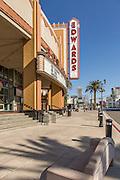 Edwards Movie Theater in Brea Downtown on Birch Street