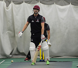 Somerset's James Hildreth. - Mandatory byline: Alex Davidson/JMP - 25/02/2016 - CRICKET - The Cooper Associates County Ground -Taunton,England - Somerset CCC  Media access - Pre-Season