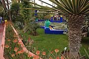 Morocco, Marrakech, Majorelle Garden