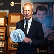 NLD/Hilversum/20200130 - Uitreiking De Gouden RadioRing 2020, Sjors Frohlich krijgt de Oeuvreaward