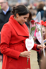 The Duke and Duchess of Sussex visit Birkenhead - 14 Jan 2019