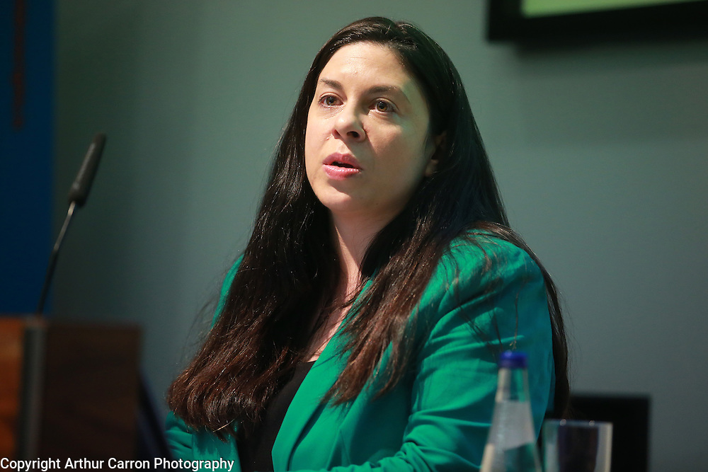 10/4/14 Tanya Ward Chief Excutive Childrens Rights Alliance at a Seminar on Children and Family Relationships Bill 2014 at Chartered Accountants House in Dublin. Picture:Arthur Carron