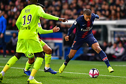 November 2, 2018 - Paris, Ile-de-France, France - Killian Mbappe #7 during the french Ligue 1 match between Paris Saint-Germain (PSG) and Lille (LOSC) at Parc des Princes stadium on November 2, 2018 in Paris, France. (Credit Image: © Julien Mattia/NurPhoto via ZUMA Press)